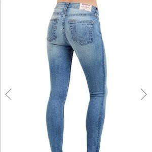 True religion skinny curvy jeans